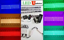 LEDUPDATES 40ft STORE FRONT Multi Color Change LED LIGHT KIT + UL Power + REMOTE