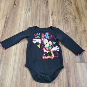 Disney minnie mouse One Piece Snap Crotch 6/9 Mo