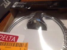 Delta Tolva Collection Towel Ring Model: Tov46-Pc Chrome Finish
