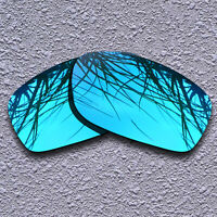 Blue Mirrored Polarized Replacement Lenses For-Oakley Fives Squared Sunglasses