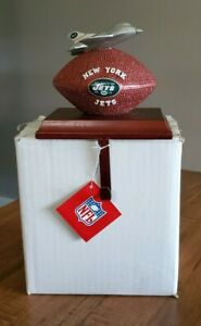 Lot of 12 NFL NY New York Jets Stocking Mantle Holders SC CHRISTMAS