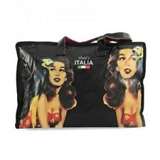 New THAT'S ITALIA RP $30 Pin-Up Bag PVC Shopping Tote Zippered Bag FREE POSTAGE