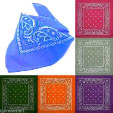 Bufandas de hombre bandanas color principal azul