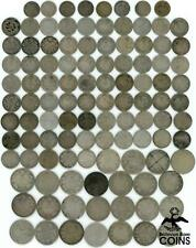 Lot of 157: 1872-1968 Canada Silver Decimal 5c-50c Coinage (ASW 25.22oz)