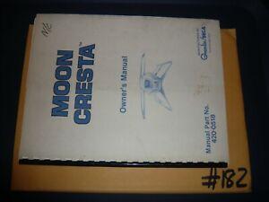 Sega Gremlin Moon Cresta Operating Manual