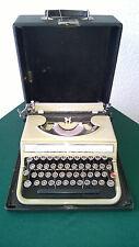 vintage typewriter Olivetti Stuidio 42 with case 1940s