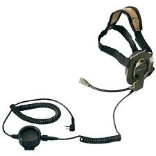 Tactical Military Headset for Midland Radio 2 Pin Jack Bow M-tactical G7 G8 G9