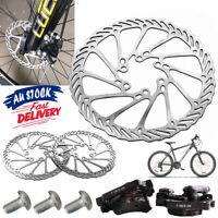 Mechanical Disc Brake Set Bicycle 160mm with Caliper & Rotor MTB Road Bike ACB#