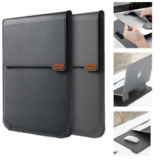 NILLKIN Versatile Laptop Sleeve Bag/Stand/Mouse Mat 3-in-1 Functional PU Leather