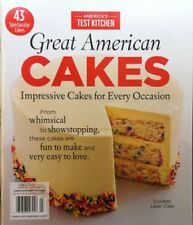 2017 AMERICA'S TEST KITCHEN GREAT AMERICAN CAKES  cooks illustrated food Network