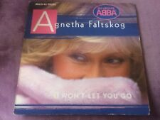 """ABBA AGNETHA FALTSKOG 45T RPM 7"""" INCH I WON'T LET YOU GO YOU'RE THERE (a22)"""