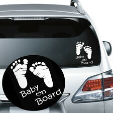 Graphics Auto Car Sticker Baby on Board Window Vehicle Decal
