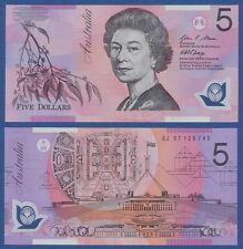 AUSTRALIEN / AUSTRALIA 5 Dollars (20)07 Polymer UNC P. 57 e