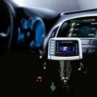 1.44inch LCD Wireless FM Transmitter Car MP3 Player TF Card USB Drive Remote SI