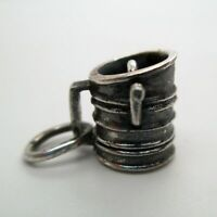 Sterling Silver SIFTER Charm for Bracelet PENDANT Cooking KITCHEN Culinary CUTE!