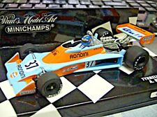 F1 TYRRELL Ford 007 Cosworth 1976 Gulf Rossi #37 1/1008 limit Minichamps 1:43