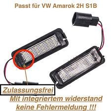 Orig VW barre de lumière éclairage plaque d/'immatriculation Caddy ab2011 2k5827574s 9b9 flügetür