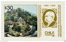 Chile 1986 #1173 Centenario Fallecimiento Benjamin Vicuña Mackenna MNH