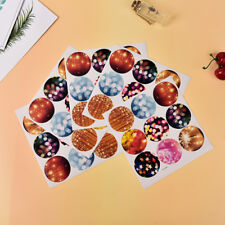 5 Sheets creative sealing stickers DIY gift for cookie candy package decoration&