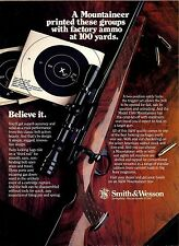 1984 Smith & Wesson Mountaineer Rifle Photo Ad