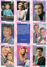 ALL MY CHILDREN ABC 1991 STAR PICS COMPLETE BASE CARD SET OF 72 KELLY RIPPA TV