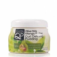 Elasta QP Olive Oil and Mango Butter Curl Defining Pudding 15oz