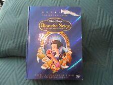 """COFFRET COLLECTOR 2 DVD + LIVRE """"BLANCHE NEIGE ET LES 7 SEPT NAINS"""" Disney"""