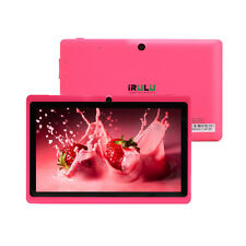 "5 Pcs Wholesale Lot iRULU 7"" Android Tablet PC 8GB Dual Camera Pad Multicolor"