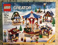 LEGO 10235 Creator Winter Village Market Christmas Holiday Set New In Sealed Box