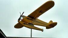 Cessna Piper Super Cub float Airplane Weathervane whirligig wind spinner yard ar