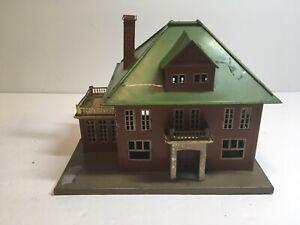 Lionel Prewar 191 Illuminated Villa Red Brick Untested