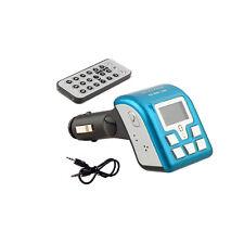 Bluetooth Auto Manos Libres Radio Fm Sd Mmc Usb Mp3 Transmisor Modulador Remoto Lcd