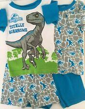 Jurassic World Dinosaur Boy's Toddler 4 Piece Shorts and Tops Set Size 2T NWOT