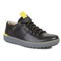 Clarks Hombre Nanu Mix GTX, Invierno Zapatos Negros Lea Gb 6,9, 10G