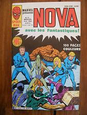 Semic MARVEL DC Comics FRANCE Spiderman BD LUG Super Heros NOVA n°75 Avril 1984