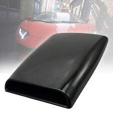 11in Universal Car Hood decorative Air Flow Intake Scoop Turbo Bonnet Vent Cover