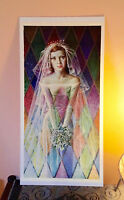 ORIGINAL RARE Tretchikoff The Bride 1960s - Vintage Kitsch Art Print