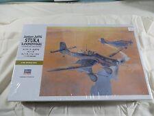 Hasegawa 1:32 Junkers Ju87G Stuka Kanonenvogel Model Kit 08075 SEALED ST25