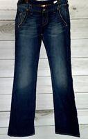Lucky Brand Womens Lil Maggie Size 2/26 Dark Wash Stretch Denim Jeans NWOT A1406
