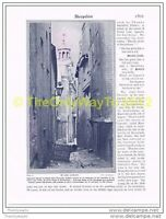 OLD LUDLOW, SHROPSHIRE, ENGLAND, BOOK ILLUSTRATION, c1920