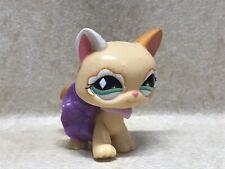 Littlest Pet Shop LPS #626 Cat Glitter diamond Green eyes Preowned