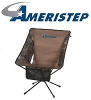Ameristep 3RX1A025X4 Realtree Xtra Camo Tellus Outdoor Hunting Blind Chair Seat