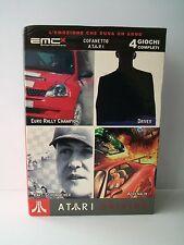ATARI DRIVING: Adrenalin, Kart Schumacher, Driver, Euro Rally [box 4 giochi pc]