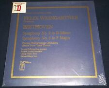 Weingartner BEETHOVEN Symphonies No.8 & 9 - Turnabout/Vox THS 65076/77 SEALED