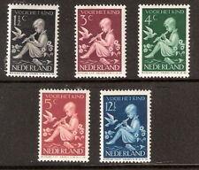 Nederland  313-317 kinderzegels 1938 luxe postfris