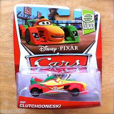 Disney PIXAR Cars RIP CLUTCHGONESKI on 2013 WGP THEME diecast 8/17 New Rearendia