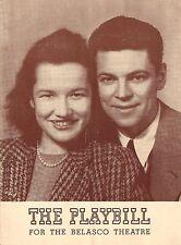 "Peggy Conklin ""MR. and MRS. NORTH"" Albert Hackett / Owen Davis Jr. 1941 Playbill"