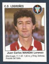 PANINI FUTBOL 93-94 SPANISH -#385-C.D.LOGRONES-JUAN CARLOS MANDIA LORENZO
