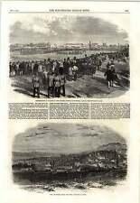1862 View Of Smyrna Turkish Quarter Victoria Rifles Montréal Canada