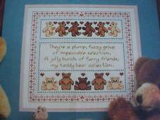 Bears Bears Bears Teddy Bears Magazine Cross Stitch Pattern (A)